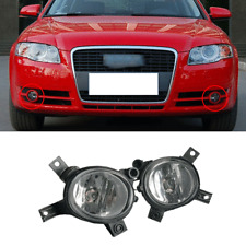 Pair of Front Halogen Fog Light Lamp Fit For AUDI A4 B7 A3 S-Line S3 RS3