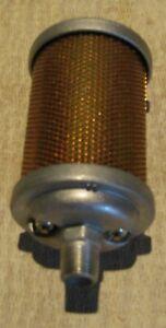 "ALWITCO Filter-Silencer F00 3/8"" NPT-Male"