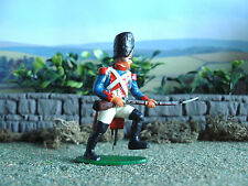 vintage Airfix Napoleonic French grenadier charging 1:32 painted