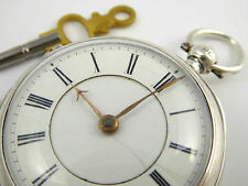 Antique 1891 Sterling Silver Fusee Pocket Watch (Needs Work) LAYBY AVAILA
