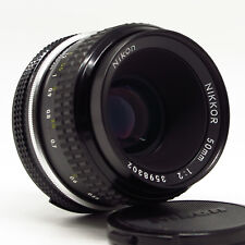 Nikon Nikkor AI 50mm 1:2 - Excellent vintage condition
