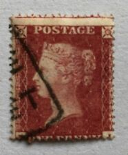 Sg36 1d rose red - very fine used (MJ)