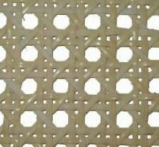 """7/16""""  fine fine bleached pre-woven cane webbing 24"""" wide Sold by the inch chair"""