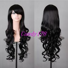 New Lolita Harajuku Wig Curly Wavy Long Hair Full Wigs Anime Cosplay Costume Wig
