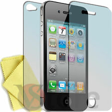 Pellicola Per iPhone 4S 4 4G Proteggi Display Pellicole 1 Fronte + 1 Retro