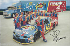 """1997 TED MUSGRAVE """"PRIMESTAR / FAMILY CHANNEL"""" #16 NASCAR WINSTON CUP POSTCARD"""