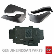 Genuine Nissan Juke 2014> Mudflaps & Carpet Mats Front & Rear Protection Pack