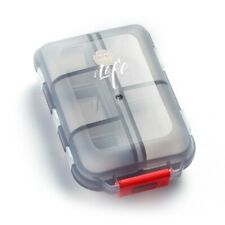 Mini Travel Weekly Pill Case 7 Day Vitamin Tablet Organise Box for Purse Pocket