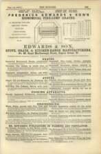 1872 Frederick Edwards Stove Great Kitchen Range Manufacturers Regent Street