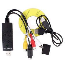 USB VHS/VCR a Conversor De Vídeo/DVD Convertidor/Captura Completo Euroconector