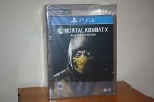 Mortal Kombat X Amazon Import Kollector's Edition (PS4) NEW SEALED MINT VGA U90!