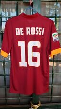 Maglia jersey De Rossi AS Roma 2014 2015 shirt vintage Patch serie A nike