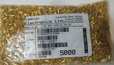 5000 CAMBION 450-3326-01-03-00 GOLD TURRET SOLDER PRESS MOUNT PC BOARD TERMINALS