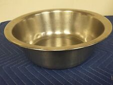 """Medical Wash Basin, 12"""" Round -  stainless steel"""