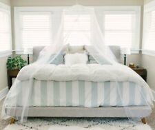 New Afton Essentials Premium Bed Canopy Mosquito Net ~ White