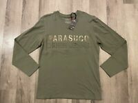 PARASUCO MEN'S LONG SLEEVES T-SHIRT SIZE L BRAND NEW