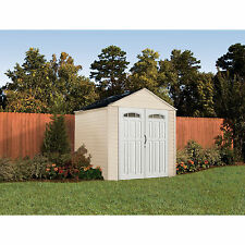 Rubbermaid 7x7-Feet X-Large 325-Cubic Feet Outdoor Storage Shed   5H80