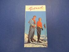 International Swiss Travel Brochure, Skiing, Gstaad, S661