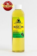 OLIVE OIL POMACE GRADE ORGANIC COLD PRESSED PREMIUM FRESH 100% PURE 8 OZ