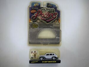 Homie Rollers '39 Chevy with Veterano & Flaco Jada Toys 1:64 Scale