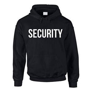 Hoodie Security Kapuzenpullover Sicherheitsdienst Pullover Sweater XS-5XL