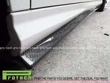 JPM Carbon Fiber Side Skirts For 08-15 M-Benz W204 C250 C350 AMG Sports Package