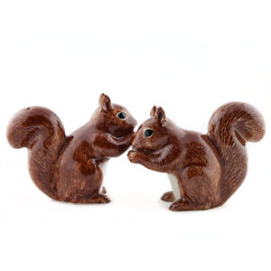 Quail Red Squirrel salt and pepper cruet set  NEW boxed CLEARANCE