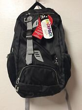 I Pack backpack phone port laptop tablet pocket black organizer  BB5