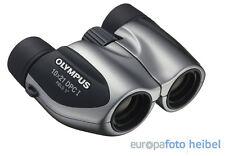 Olympus 10x21 DPC-I prismáticos plata incl. bolso y Correa
