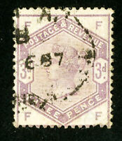 Great Britain Stamps # 102 F-VF Used Scott Value $100.00