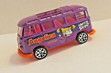 "Matchbox VW TRANSPORTER ""RugRats""~ Angelica~purple-pink'n'orange*** MINT***"