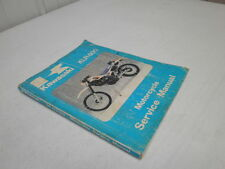 1984 Kawasaki KLR650 Motorcycle Service Manual KLR 650 84