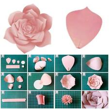 30cm Paper Flower Backdrop Wall Large Rose Flowers DIY Wedding Party Decor-2019