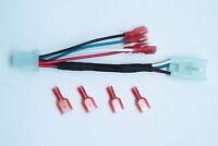 Plug and Play Harness 4 PIN REAR FOG BRAKE REVERSE Light PNP For Subaru WRX STI