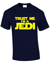TRUST ME IM A JEDI KIDS CHILDRENS T SHIRT STAR TROOPER STORM WARS DESIGN