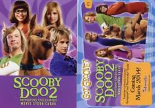 "2004 INKWORKS ""SCOOBY DOO 2"" 3 x PROMO TRADING CARD SET - V/GOOD CONDITION"