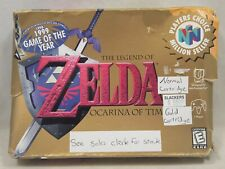 The Legend of Zelda Ocarina of Time (Nintendo 64   N64) Authentic BOX ONLY