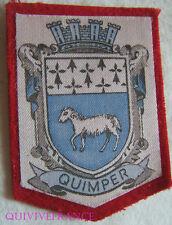 BG5844 - PATCH ECUSSON TISSU BLASON VILLE DE QUIMPER