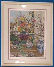 "John Powell ""Still Life"" Serigraph Limited Edition Signed & Well Framed"