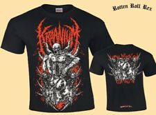 KRAANIUM - Larva Infested Cum Sluts - T-Shirt (Red Print)
