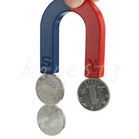 Traditional U Shaped Horseshoe Magnet Kids Toy Teaching Education Tool 3cm
