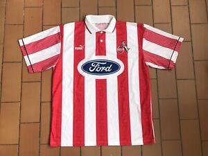 Maglia Calcio Colonia FC Köln Puma Jersey Vintage Shirt Germania Ford