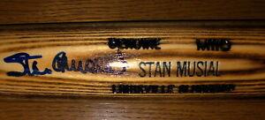 Stan Musial HOF 69 Auto H & B Baseball Bat, with Cert