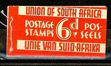 South Africa Scott 46d x2, 48d x2 booklet Mint NH (Catalog Value $30.00)