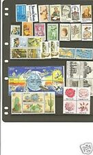 1981 Commemorative Year Set of 42 MNH Stamps