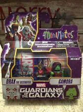 Marvel Minimates Drax The Destroyer & Gamora Walgreens Exclusive Series 2 New