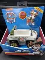 Paw Patrol Tracker Jungle Cruiser Rolling Wheels Deluxe Vehicle 2019 Spin Mastrr
