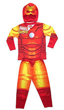 MARVEL IRON MAN boys toddler costume party outfit set Size S 3 yrs