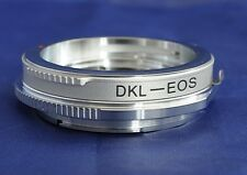 Voigtlander Retina DKL to Canon EOS EF Lens Mount Adapter 60D 60D 7D 1D DKL-EF