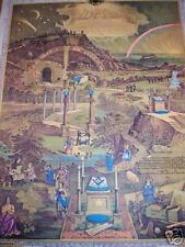 Masonic Darkness to Light Art print ring Knights Templar Royal Arch Freemasonry